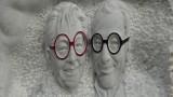 Yvonne and Angelo Sangiacomo Statue