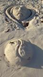 Playa del Carmen Sand Sculpture