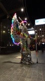 Union Square Light Performer