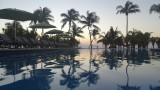 Azul Fives Lower Pool at Sunrise