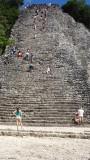 Nohoch Mul Pyramid
