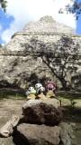 The Pandafords Visit Coba Ruins