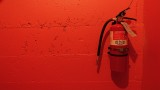 Color Factory Red Room Fire Extinguisher
