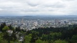 View of Downtown Portland from Pittock Mansion