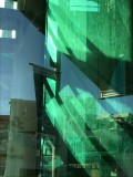 Green Glass Stairwell