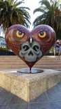 Union Square Owl Skull Heart