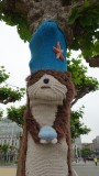 Knitted Sea Otter Tree Cosy