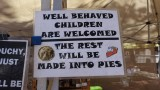 Well Behaved Children Are Welcomed...