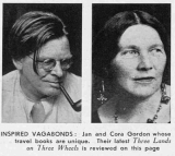 Photographs of Jan and Cora Gordon from the Sphere, 1932.