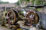 Water wheels, Cromford Mill, June 2018.jpg