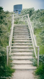 Steps up to the Round and Round House, Anderby Creek.jpg