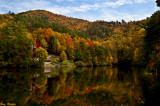 Autumn Comes to a Small Pond-Wears Valley