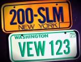 Miniature License  Plates - '68-'75