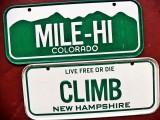 Miniature License Plates - '78-'90