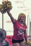 Houston Aeros Hockey Cheerleader.  Rah Rah Rah
