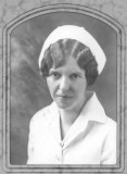 1931 - Aunt Nora graduation picture from Grant Hospital School of Nursing in Chicago