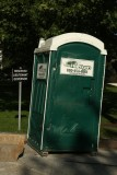 The Lieutenant Governor of Vermont has his own Porta Potty