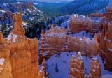 Winter along the Navajo Loop Trail, Bryce Canyon National Park, UT