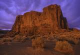 Sunrise on  Cly Butte, Monument Valley, Navajo Tribal Park, AZ/UT