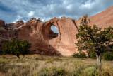 Window Rock at the Navajo Tribal Park, AZ