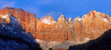 Towers of he Virgin River, Zion National Park, UT