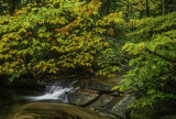 (NE9) Small waterfall, NH