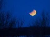 Éclipse LUNAIRE / SUPER LUNE BLEUE / 31 Janvier 2018 / 6:59