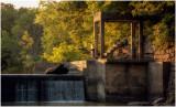 Dunn's Dam in the Fall