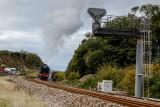 Flying Scotsman passing Dawlish Warren