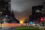 Foggy morning downtown Sacramento