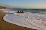 Evening light on the beach at Porthleven