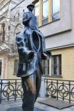 Frank Kafka Statue