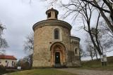 Vyšehrad. Rotunda of St Martin (Rotunda sv. Martina)