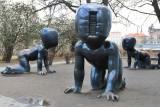Kampa Park. Černý sculptures