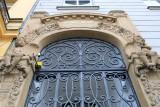 Prague. Art Nouveau Architecture