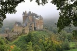 Burg Eltz (Eltz Castle) in a misty morning
