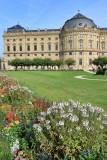 Würzburg. Residenz Gardens