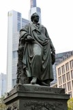 Frankfurt am Main. Goethe Monument