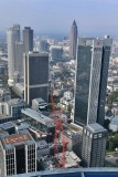 Frankfurt am Main. View from The Main Tower