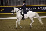 Jacqueline Brooks riding dancing D Niro at Royal International Dressage Cup at Ricoh Coliseum Royal Horse Show Exhibition Place
