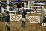 Adrienne Sternlicht and Ian Millar walking the course at Longines FEI World Cup Show Jumping international competition Royal Hor