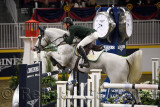 Richie Moloney Ireland riding Button Sitte in the Longines FEI World Cup Show Jumping competition at the Royal Horse Show Toront