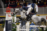 Nicola Philippaerts Belgium riding H&M Harley VD Bisschop in the Longines FEI World Cup Show Jumping competition at the Royal Ho