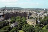 Edinburgh seen from Edinburgh Castle - 4597