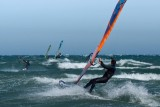 Line of Wind  Surfers