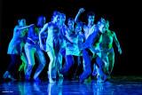 The light show Eisenhower Dance