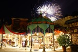 Fireworks over Adventureland