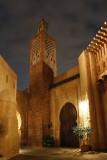 Morocco night scenery