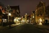 United Kingdom street at night