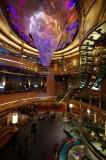 Eurodam's central atrium